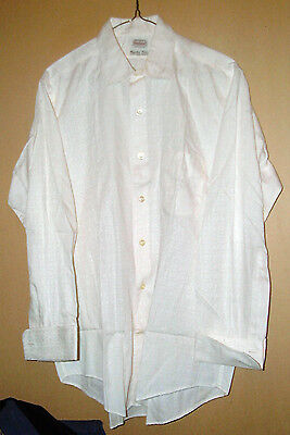 VINTAGE N.O.S.? PENNEY's TOWNCRAFT 100% SANFORIZED COTTON DRESS SHIRT-L !