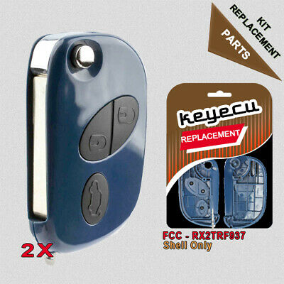 2014 New Item BRAND NEW REPLACEMENT Shell Remote Key Case 3 Button for Maserati