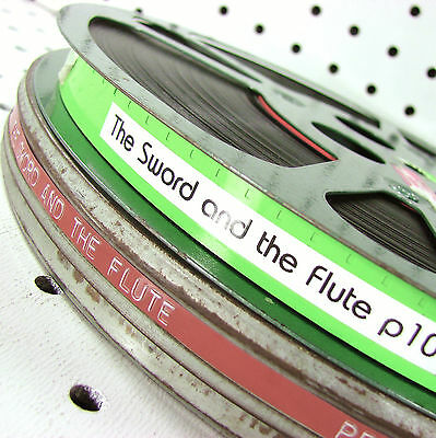 16mm Film: The Sword and the Flute 1959 Ivory 22m 20s Color Sound w/VIDEO eval