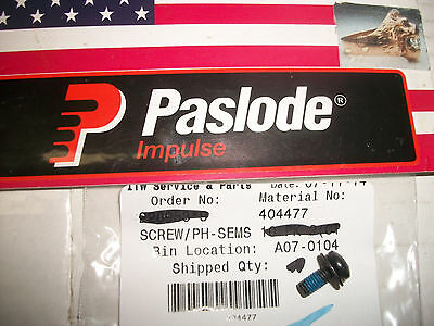 """NEW"" Paslode  Part # 404477  SCREW/PH-SEMS"