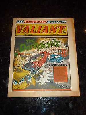 VALIANT Comic (1975) - Date 21/06/1975 - UK Paper Comic