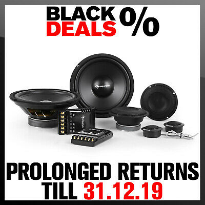 """Professional 4800 W In Car Audio 8"""" 3 Way Component Speakers Hi Fi Stereo 3 Way"""