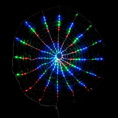 LED Spiral Circle Light for Christmas Decoration Fairy Light Multi Color 3 Sizes