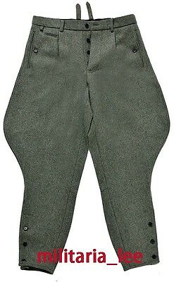 WW2 Repro German Officer Wool Combat Breeches All Sizes