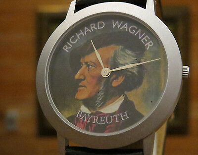 A Very RARE collection from GERMANY Richard Wagner Bayreuth Dial Watch For MENs