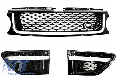 Range Rover Sport 10-13 Autobiography Grill & Side Vents Set Grille