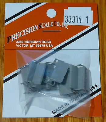 Precision Scale HO #33314.1 (Gray) Seats, Tripble with arm rest, for Lightweight