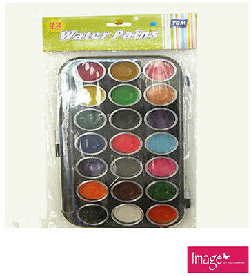 Watercolour Water Paints 21 Colors School Home Drawing Art Craft TOM-P504