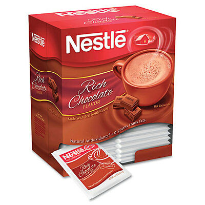 Nestle  Instant Hot Cocoa Mix, Chocolate, 1 oz, 50/Box, BX - NES25485