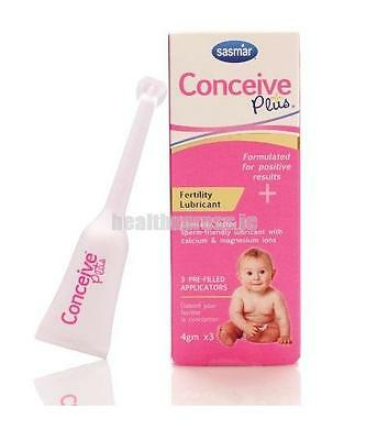 Conceive Plus Fertility Lubricant Individual Use Applicators 3 pack