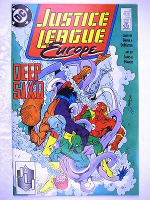 DC Comics: JUSTICE LEAGUE EUROPE #2 MAY 1989 # 16A92
