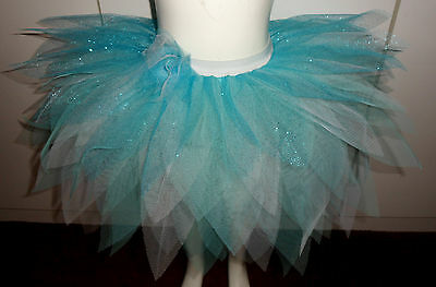 Ice Queen 11 layered Glittery Fairy Tutu for Toddler/Girls, Birthday Fancy dress