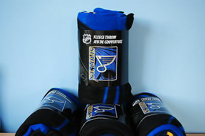 St Louis Blues Fleece Throw