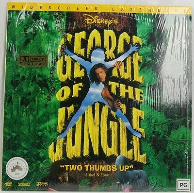 """Disney's George Of The Jungle: Widescreen: NTSC: 12"""" Laser Disc"""