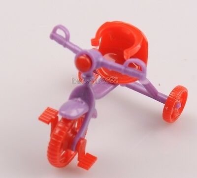 Cute Accessories  Doll Play Toys Tricycle Toy Pedicab Cute Children's Gift