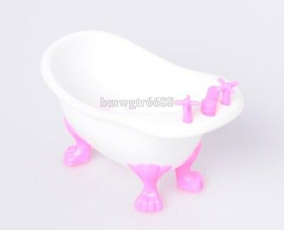 Dolls Accessories Playing House Furniture with Little  Playing Small Tub