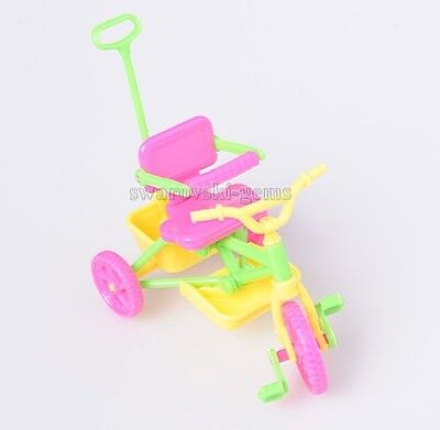 Dolls Accessories Kelly Tricycle Play Toys Tricycle Accessories Cute Tricycle