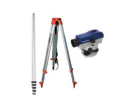 AUTOMATIC OPTICAL SITE LEVEL KIT Cowley Dumpy Surveyor