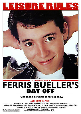 Ferris Bueller's Day Off (1986) - A1/A2 Poster *BUY ANY 2 AND GET 1 FREE OFFER*