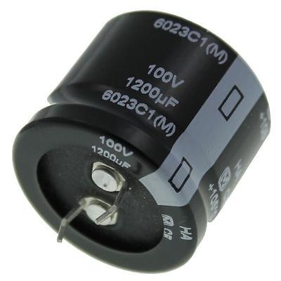 5x Snap-In Electrolytic Capacitor 1200µF 100V 85°C ; ECOS2AA122DB ; 1200uF
