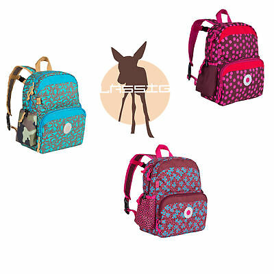 Lässig 4Kids Mini Backpack Rucksack Kinder Tasche dottie red dino slate blossy