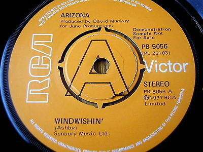 "Arizona - Windwishin'   7"" Vinyl Demo"