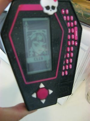 Monster High Coffin Phone And Game, Mattel 2009