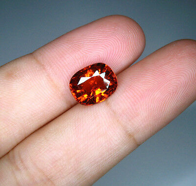 Unheated Spessartine / Mandarin Garnet 3.09 ct. (Unique Colour - Fanta Colour)