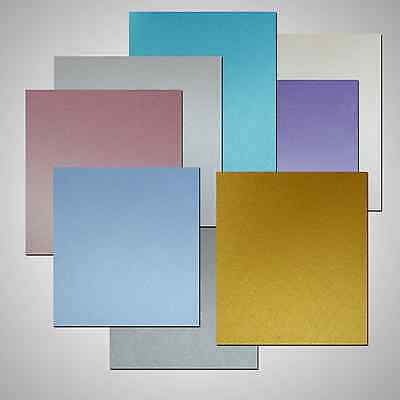 A4 Pearlescent Double Sided Paper - New Centura Pearl Shimmer Craft Paper 95gsm
