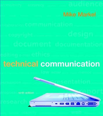 Technical Communication by Mike Markel (2009, Paperback)