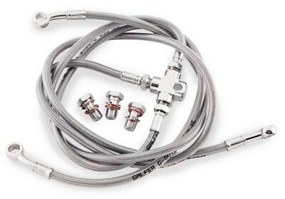 Galfer Brake Line Rear Stainless Steel For Yamaha Banshee 90-06