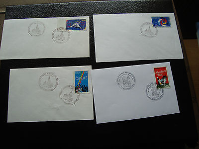 FRANCE - 4 enveloppes 1998 (cy44) french