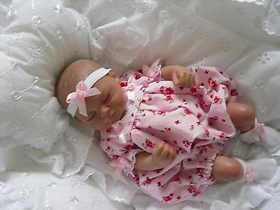 """Miss Polly's Dollies Baby Dolls' Clothes ** ROMPER SET FITS 10"""" REBORN DOLLS"""