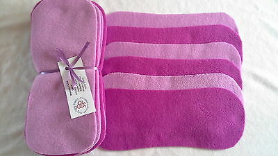 Easy Peasy value washable Fleece Nappy Liners pk15 Mixed Pink Soft Polar Fleece