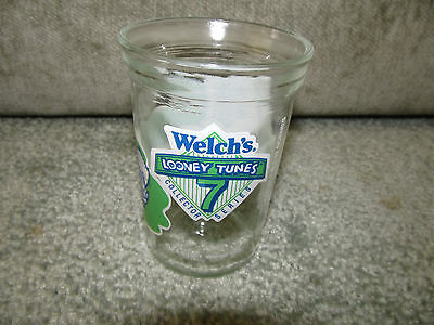 VINTAGE WELCH'S JELLY JAR CUP GLASS LOONEY TUNES SERIES #7 FOGHORN LEGHORN