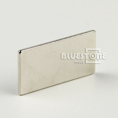 Big Super Strong Block Magnet 40 x 20 x 2mm Craft Model Rare Earth Neodymium N35