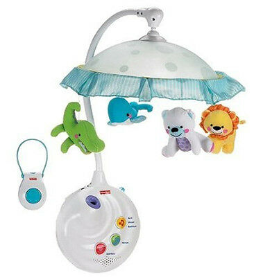 NEW Infant Fisher-Price Precious Planet 2-in-1 Projection Nursery Crib Mobile
