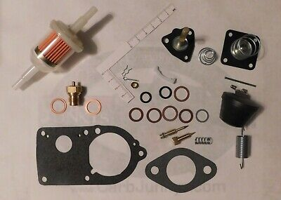 28 PICT 1 2 30 PICT 1 Solex Carburetor Rep Kit VW Beetle Float Acc Nozzle Spring