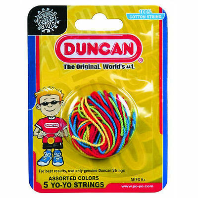 Duncan YoYo String - High Quality 100% Cotton Professional Yo-Yo Strings - Yo Yo