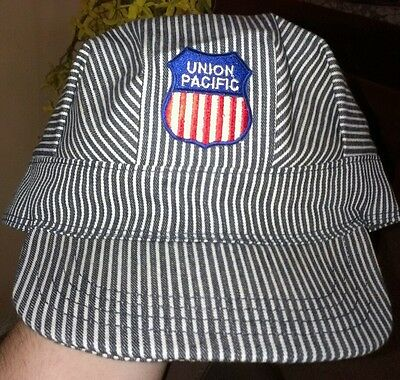 Union Pacific railroad Engineers hat/cap one size