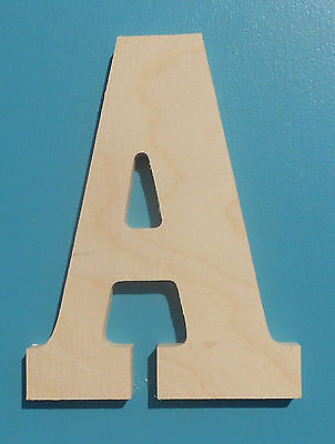 12 wooden letter block font unfinished wood letters room decor childrens room