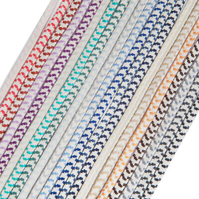 Neotrims 8mm, A Thick Flat Elastic Shock Cord,Very Strong Bungee Rope,21 Colours