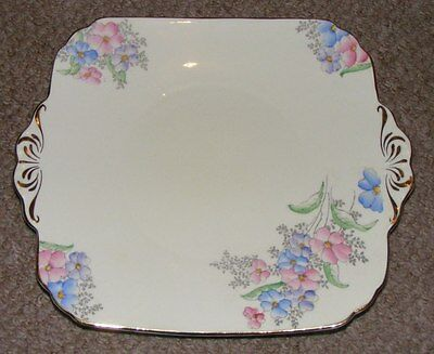 Vintage Foley China Serving Plate (E. Brain & Co.)