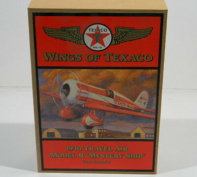 Wings of Texaco - Ertl 1930 Travel Air Model R Mystery Ship , 5th in Series