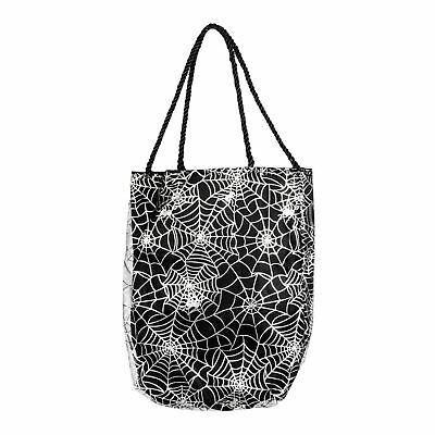 Halloween Trick or Treat Bag Handbag Purse Fancy Dress Witch Costume Accessory