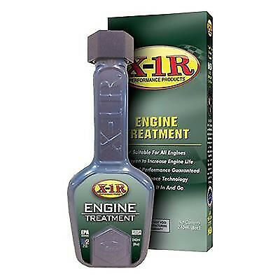 X1R Car Engine Treatment Petrol & Diesel Add To Oil Performance Lubricant 240ml