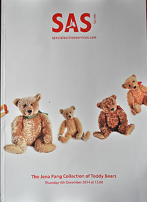 Important auction catalogue SAS 6th Nov & 4th Dec 2014 Teddy Bears and Dolls