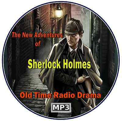 The New Adventures of Sherlock Holmes - 511 Episodes – Old Time Radio – Mp3 CD