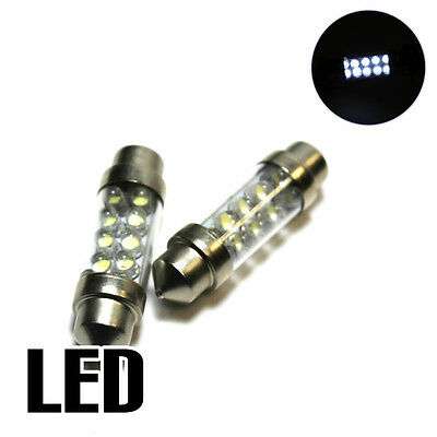 2x Audi A3 8L1 1.6 Xenon White LED Licence Number Plate Upgrade Light Bulbs XE6