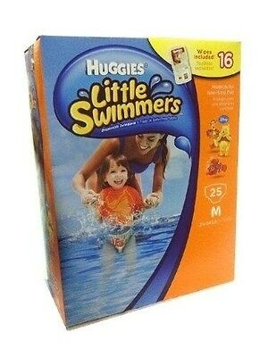Huggies little swimmers brand new size Medium 25 ct - POPULAR PRODUCT - CHEAP!